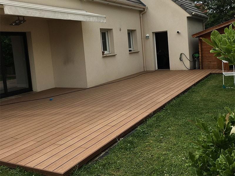 Terrase composite à Arnouville