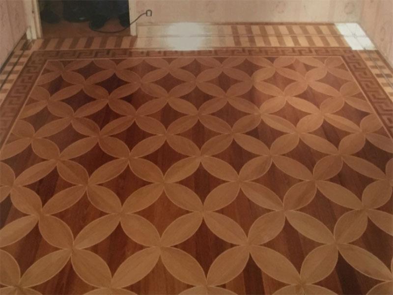 Marqueterie chambre Paris 8